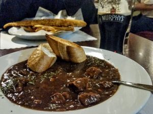Guinness Beef Stew, Garryowen Irish Pub