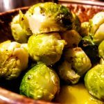 Butter-Steamed Brussels Sprouts