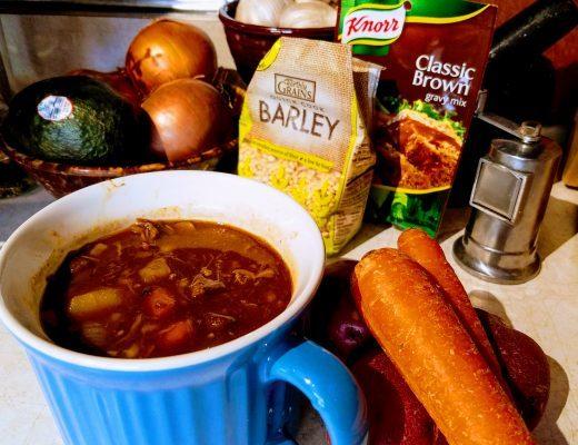 souper pot roast barley soup
